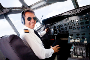 vaderdag in de cockpit