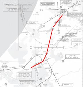 Route EHRD 06 - EHAM 04