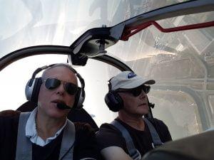 Aerobatics perspectief