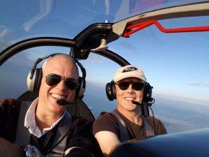 Aerobatics boven de Maasvlakte